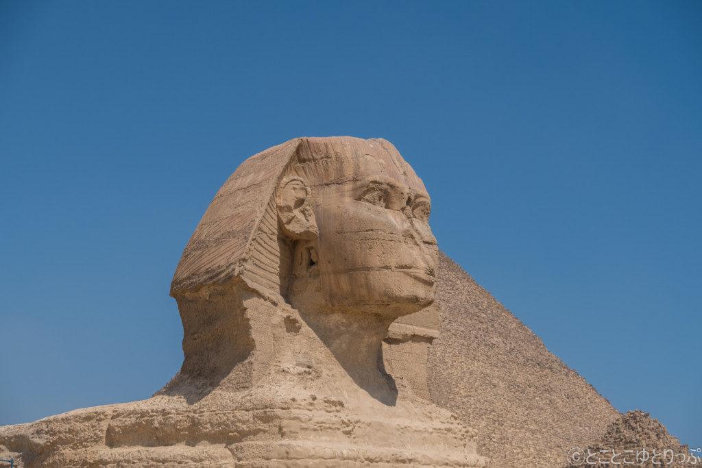 【エジプト】ついに来た!世界遺産ギザの三大ピラミッド!!